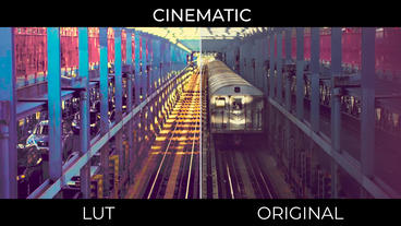Cinematic LUTs Presets v.2 Premiere Pro Template