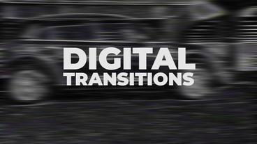 Digital Transitions Presets Premiere Pro Template