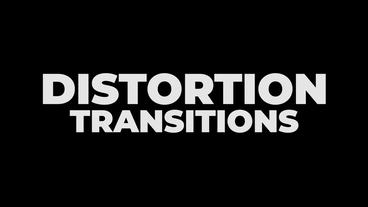 Distortion Transitions Presets Premiere Pro Template