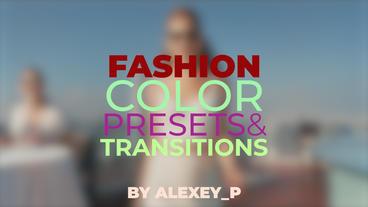 Fashion Presets Premiere Proテンプレート