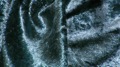 Abstract steel-blue video background with velvet texture in circular motion Animation