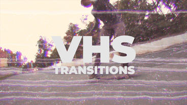 Fast VHS Transitions Premiere Pro Template