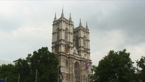 Westminster Abbey in London Live Action
