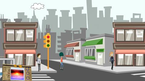 Scratch & Dent, Cartoon Animation Animation