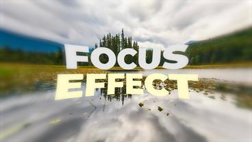 Focus Effect Presets Premiere Proテンプレート