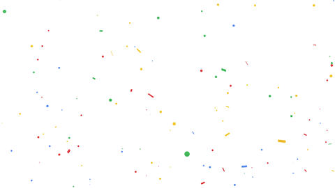 explosion of confetti Footage