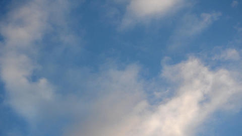 Clouds Timelapse Blue Sky White Clouds GIF