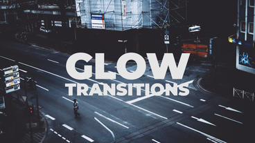 Glow Transitions Presets Premiere Pro Template