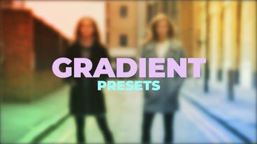 Gradient Presets Premiere Pro Template
