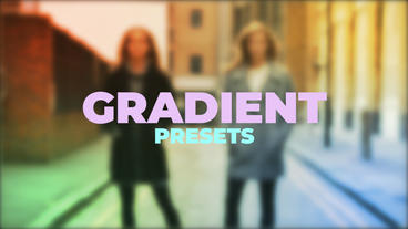 Gradient Presets Premiere Proテンプレート