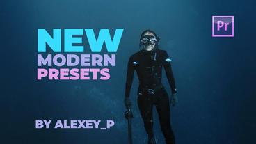 Modern Presets Premiere Pro Template