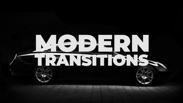 Modern Transitions Premiere Proテンプレート