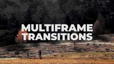 Multiframe Transitions Presets Premiere Pro Template