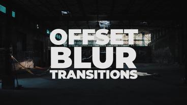 Offset Blur Transitions Presets Premiere Pro Template
