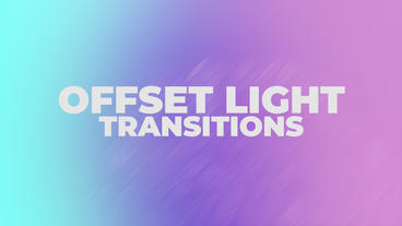 Offset Light Transitions Presets Premiere Pro Template