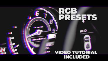 RGB Presets Premiere Proテンプレート