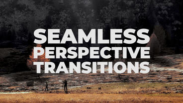 Seamless Perspective Transitions Presets Premiere Pro Template