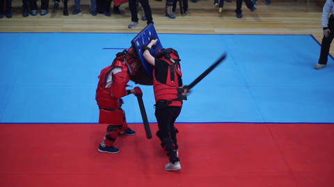 Modern sword fighting Live Action
