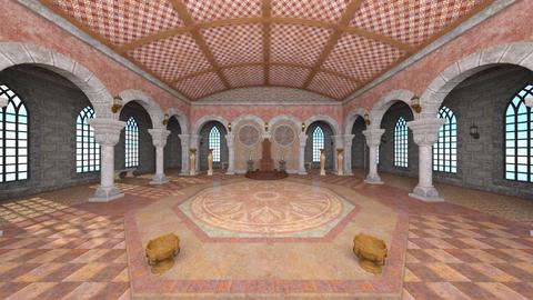 A palace CG動画素材