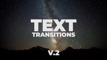 Universal Text Transitions Presets V.2 Premiere Pro Template