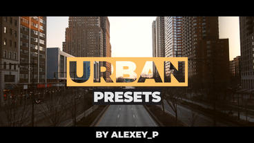Urban Presets Premiere Proテンプレート