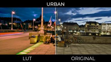 Urban LUTs Presets Premiere Proテンプレート