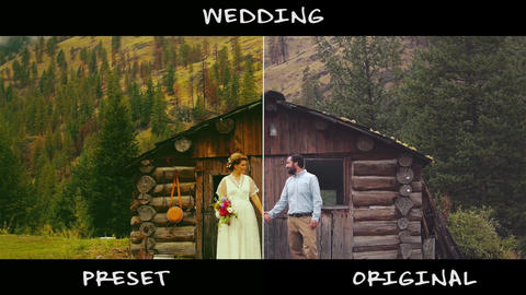 Wedding Presets Premiere Pro Template