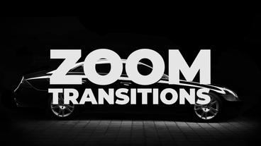 Zoom Transitions Presets Premiere Pro Template