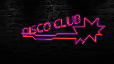 New Neon Sign Titles After Effects Template