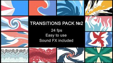 Liquid Transitions Pack 02 Plantilla de After Effects