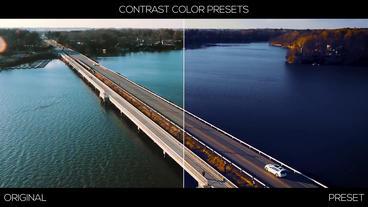 Contrast Color Presets Premiere Pro Effect Preset