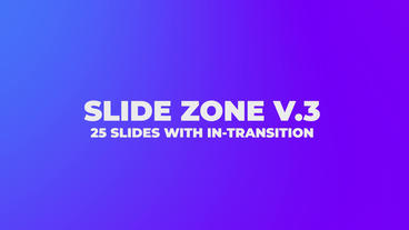 Slides Zone V 3 After Effectsテンプレート