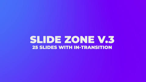 Slides Zone V 3 After Effects Template