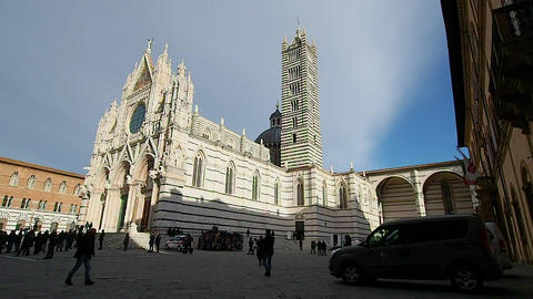 Siena Cathedral in 4k GIF