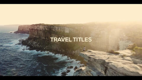 Travel Titles Premiere Pro Template