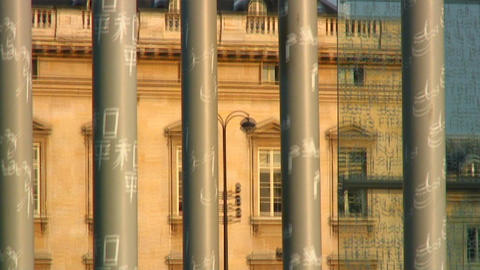 Royalty Free Stock Footage of Tilt up shot of the Peace Monument in Paris, Franc Live Action