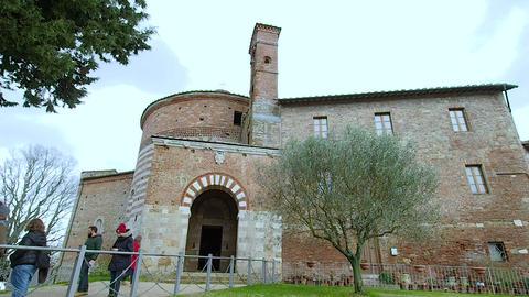 Hermitage of Montesiepi in 4k Live Action