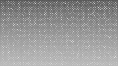 Flashing dots across gray background, loopable motion background Footage
