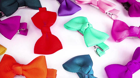 Baby hair bow bows girls baby shower party decoration gift Live Action