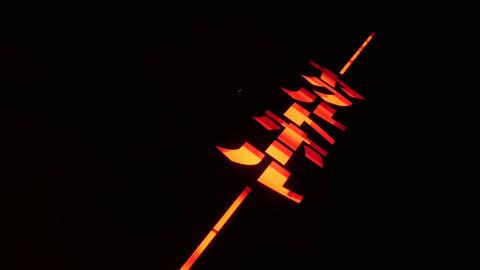 Abstract neon advertising ビデオ
