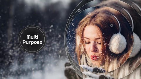 Circle Smooth - Memory Slideshow Premiere Proテンプレート
