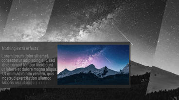 MinimalGray After Effects Template