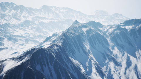 Arctic Mountains in Northern Norway ビデオ