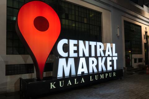 Central Market in Kuala Lumpur Photo