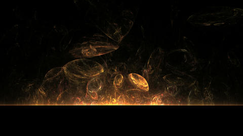 Fire Balls on Black Stock Video Footage