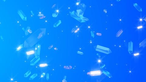 水晶ループ Animation