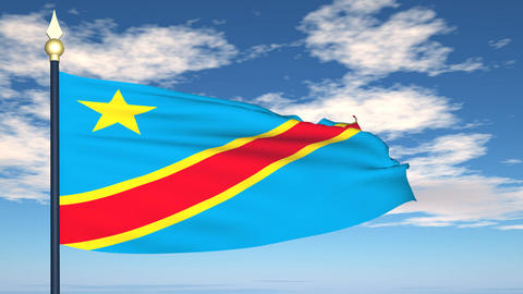 Flag Of Congo Animation