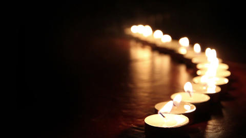 Candlelight HD Stock Video Footage