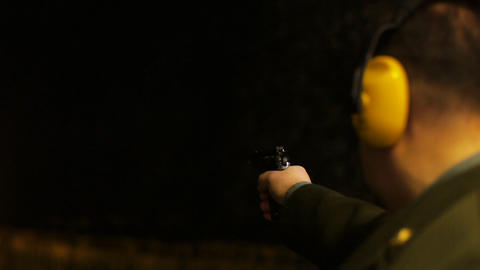 Shooting range Stock Video Footage