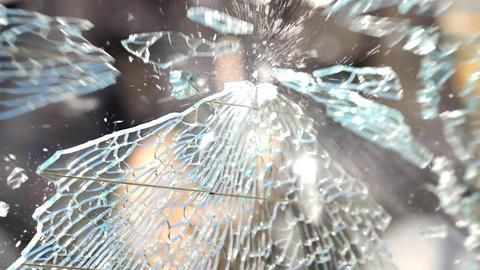 Shoot through car glass Stock Video Footage